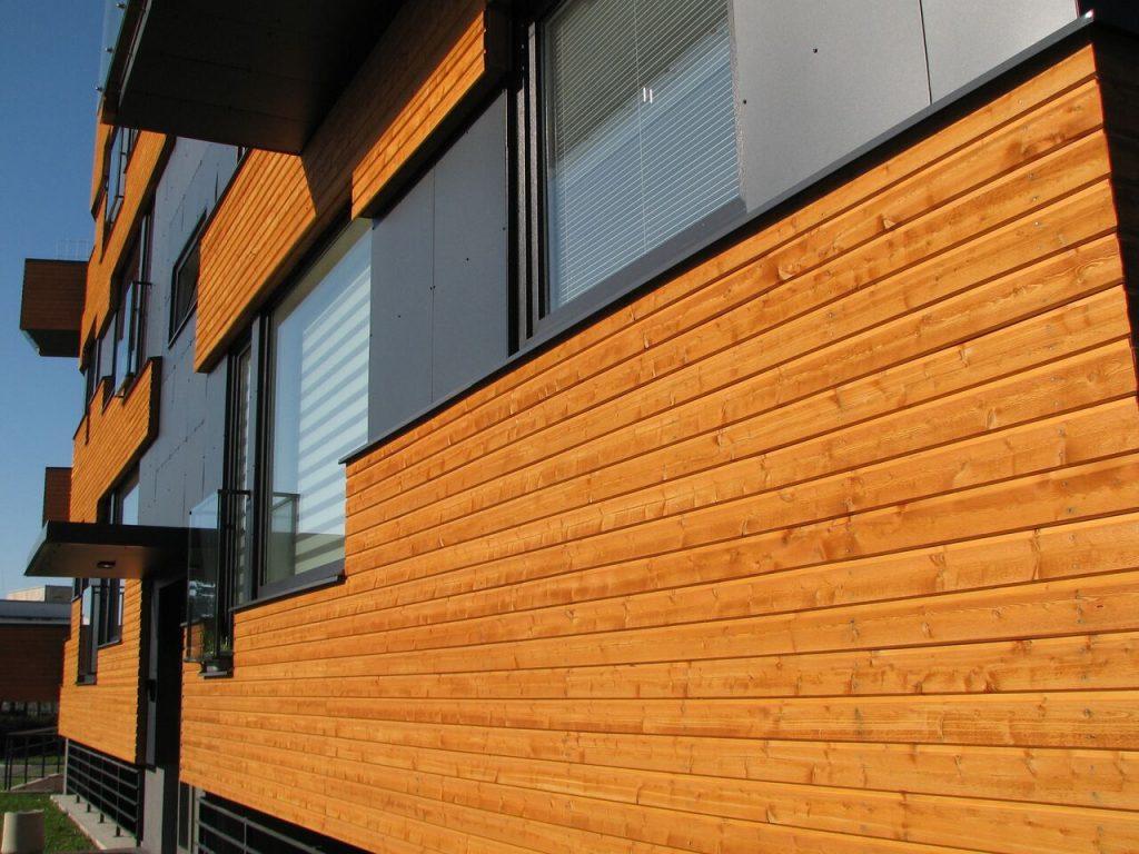 Exterior Painted Timber Cladding Puidukoda UK Ireland